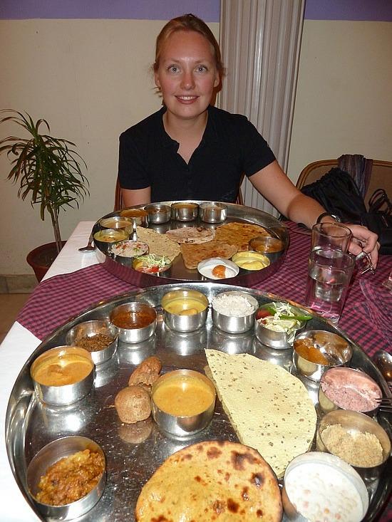 Indian tapas (thalis)