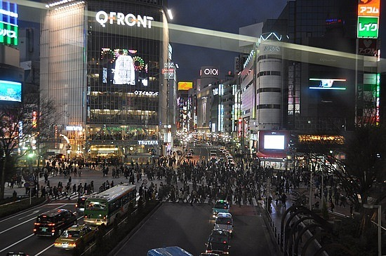 Busiest crossing in the world