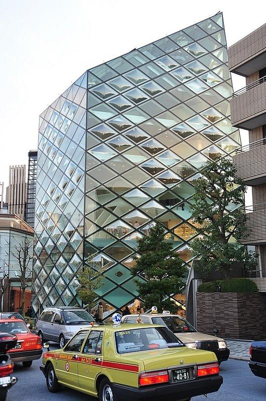 Prada's signature building