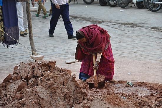 Hard-working woman