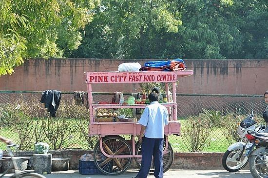 Fast food stall