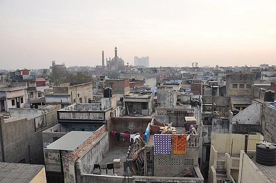 Rooftops in Delhi