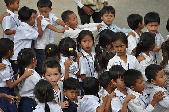 Kids at palace