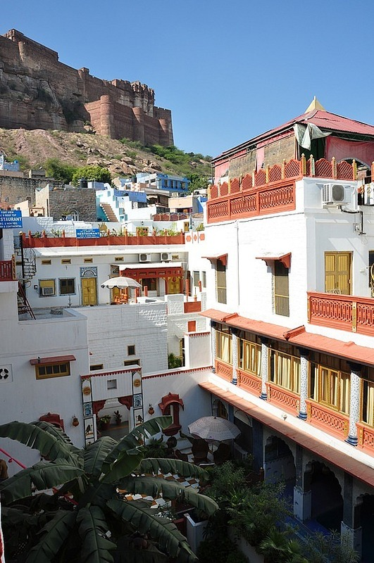 The fort from our Haveli hotel