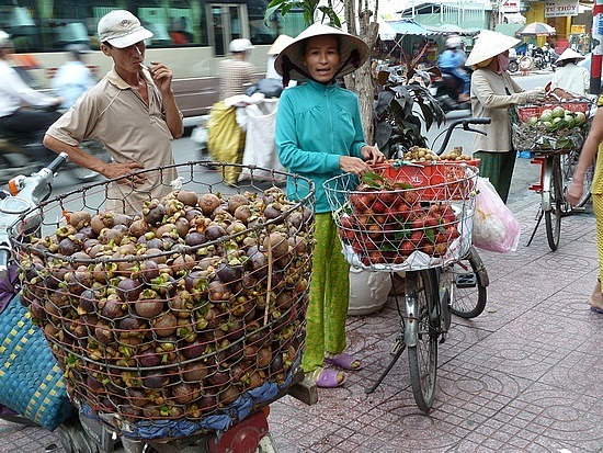 Fruit in the street