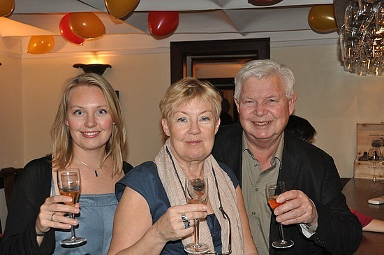 New Year's with mum and dad