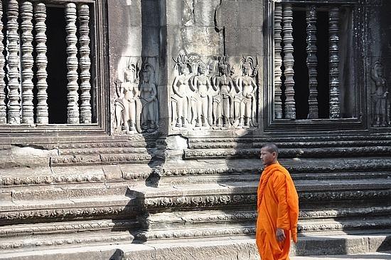 Temple wanderer
