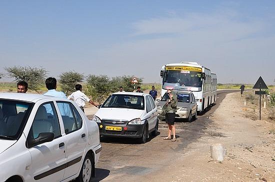 Our Tata car