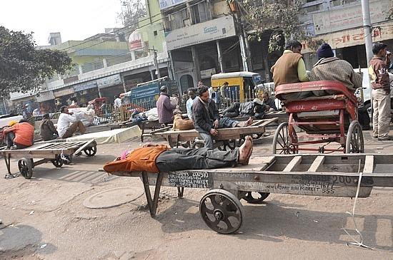 Siesta time in Old Delhi