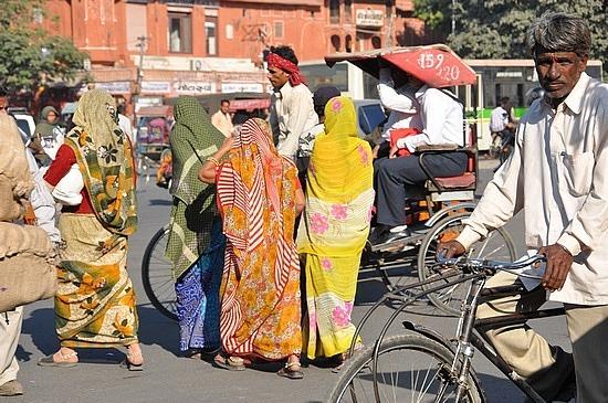 Colourful women