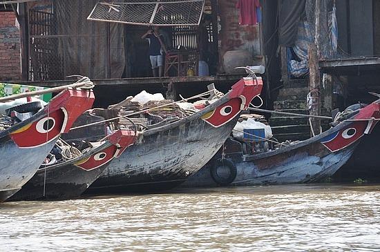Boats at Mekong