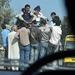 Overcrowded tuk tuk