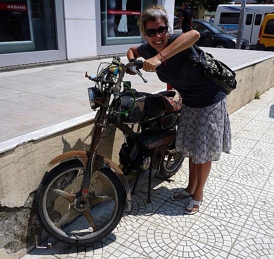handmade bike -  kusadasi