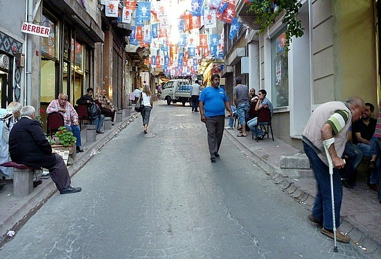 out street - istanbul