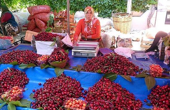 Kusadasi cherries