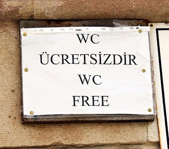 Free Bathroom - First in Turkey!!!!!