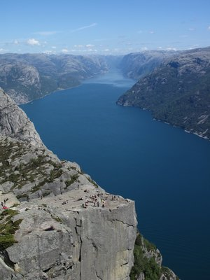 Pulpit Rock and the Lysefjord, Norway