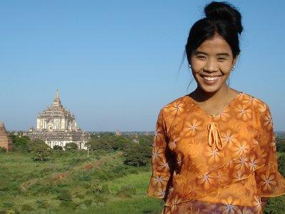 Temple Guardian, Bagan, Myanmar