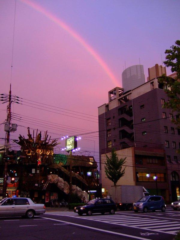Rainbow in Kyoto