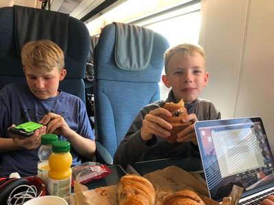 Breakfast on the Eurostar