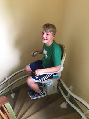 Testing the lift - Noah