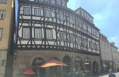 Oldest half-timbered house in Coburg