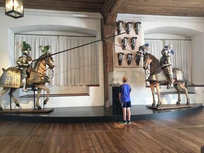 Tournament Armour Room