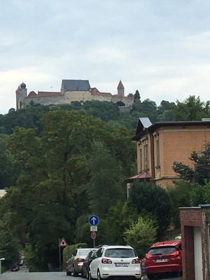Coburg Fortress from the city