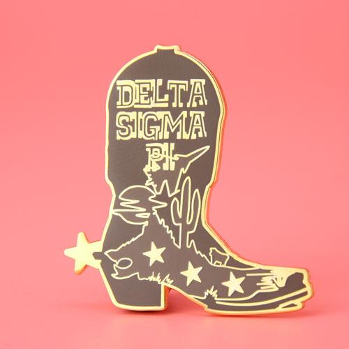Cowboy Boot Lapel Pins