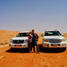 desert driving oman - enjoying the power of Toyota Prado
