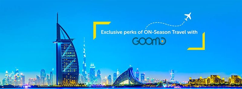 Book your Flight tickets with Goomo at Cheapest price.