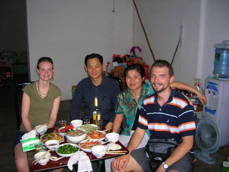 Souper chez Lee Jay et ses parents