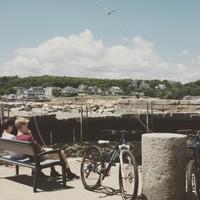 Bench, Bikes, Boys