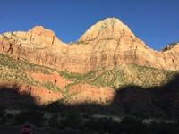 Sun set in Zion