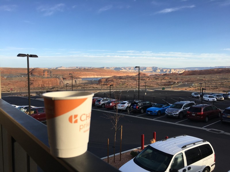 Coffee in Page, AZ