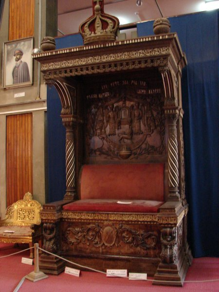 Throne of Emepeor Haile Sellassie I