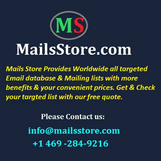 Healthcare Email List | Healthcare Mailing List | Mails Store