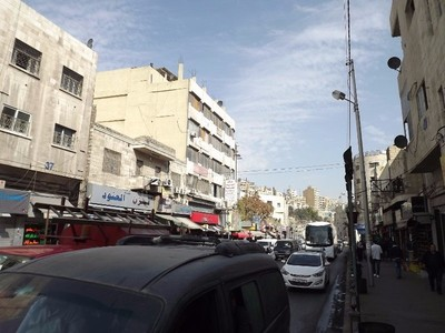 Exploring downtown Amman