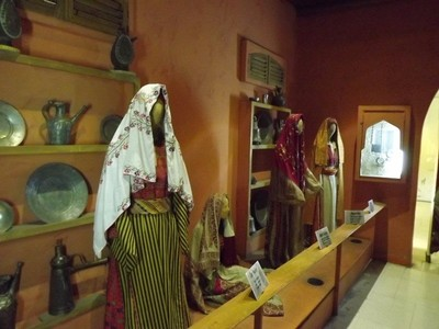 At the Jordanian Folklore Museum