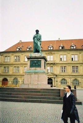 The monument to Friedrich Shiller