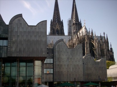 Cologne Cathedral and the modern museum