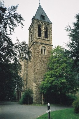 The town cathedral