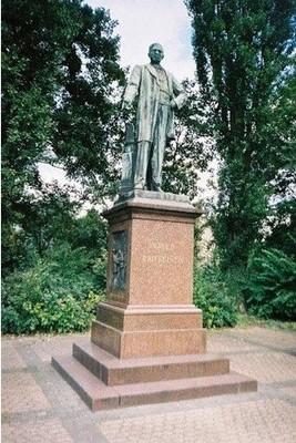 The monument to Friedrich Wilhelm Raiffeisen
