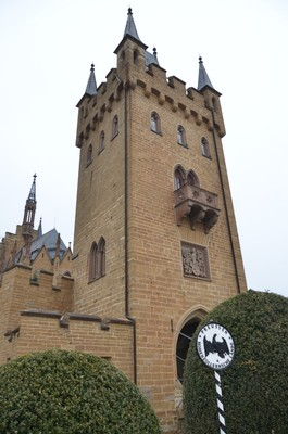Visiting Hohenzollern Castle