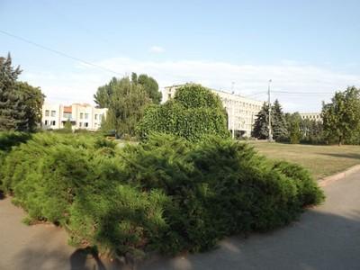 Central Square in Sloviansk