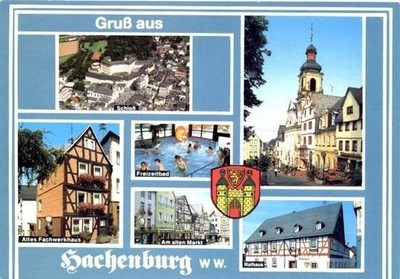 My favourite postcards from Hachenburg