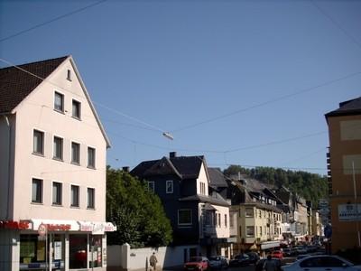 Old houses in Wissen