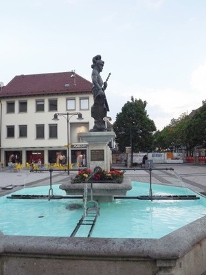 Ullrich Fountain in the main street of Balingen_1