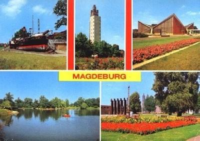 My Magdeburg postcard