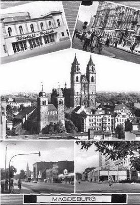 Classical Magdeburg Postcard